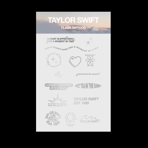 """√""""just a summer thing"""" von Taylor Swift - metallic tattoos jetzt im Taylor Swift Shop"""