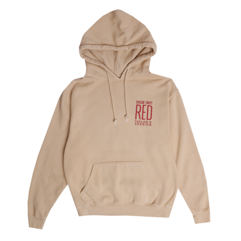 ALBUM COVER by Taylor Swift - BEIGE HOODIE - shop now at Taylor Swift store