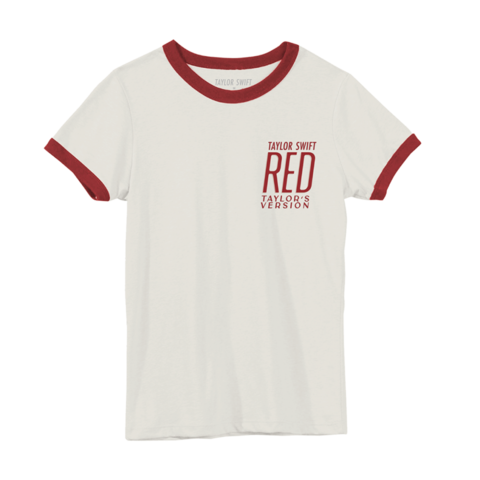 ALBUM COVER by Taylor Swift - RINGER T-SHIRT - shop now at Taylor Swift store